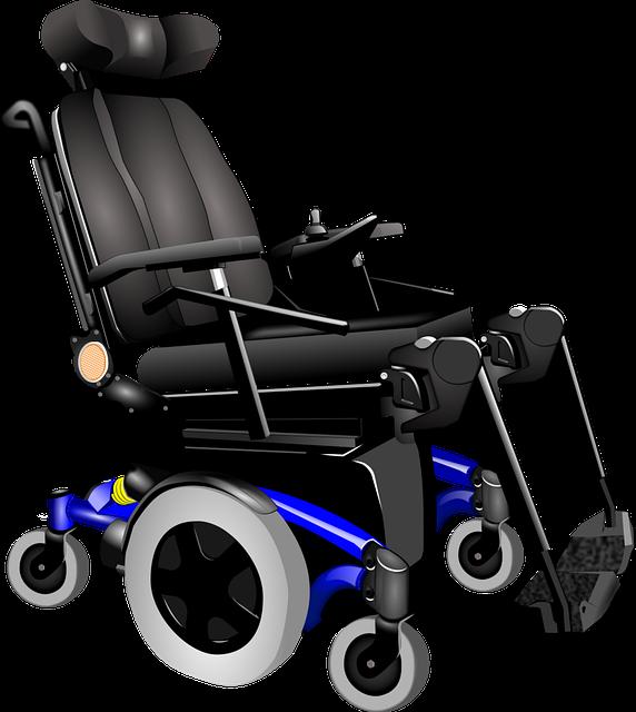 wózek inwalidzki o napędzie elektrycznym