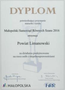Samorząd Równych Szans 2016