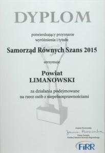 Samorząd Równych Szans 2015