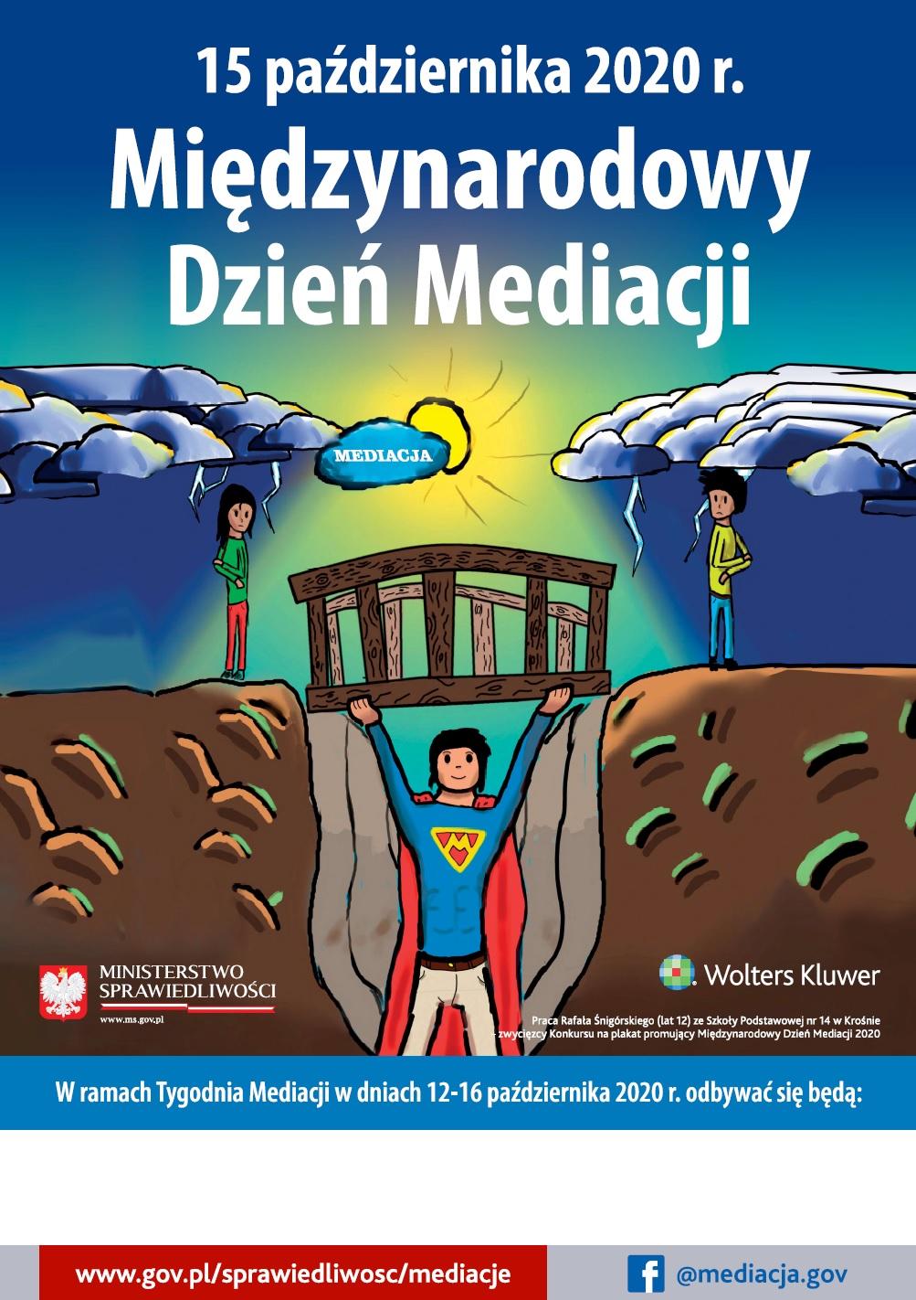plakat promujący MDM 2020