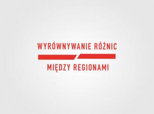 Logo Programu Wyrównywania Różnic Między Regionami III w 2021 roku