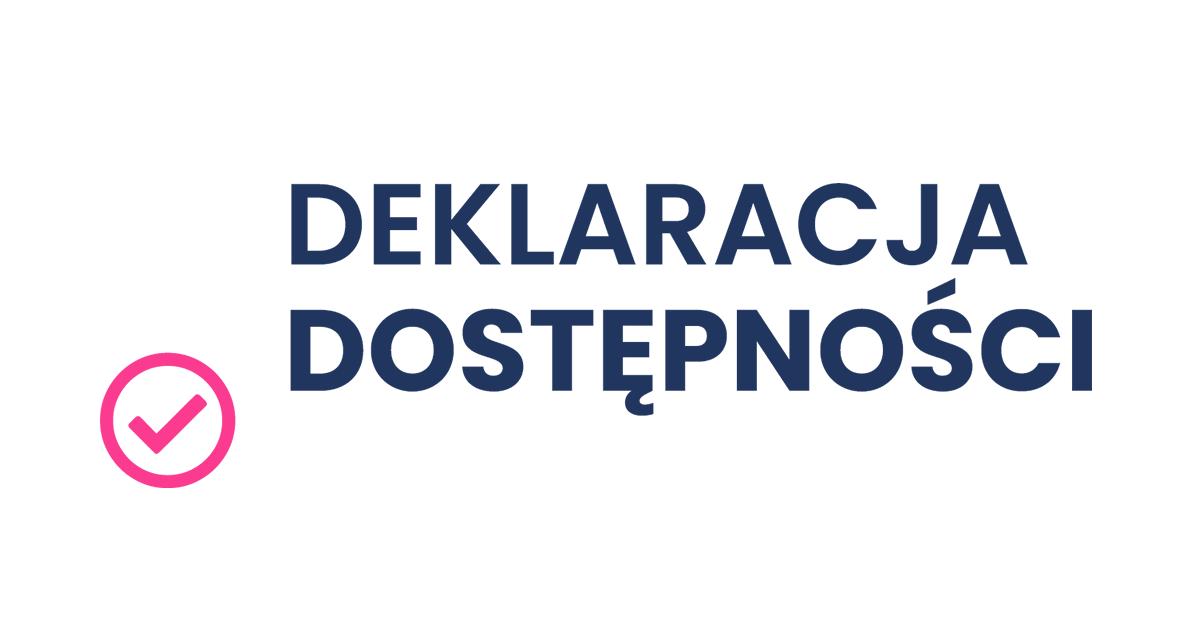 Logo deklaracji dostępności