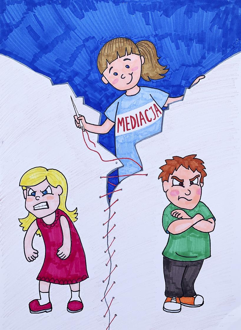 Plakat promujący Dzień Mediacji 2021